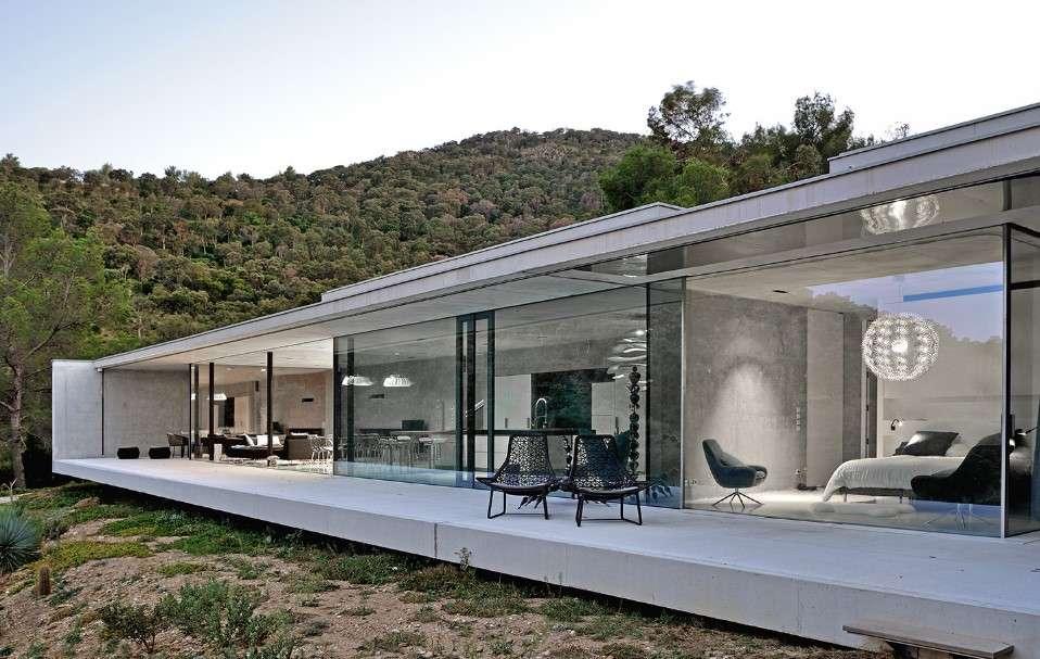 gallary of la mira ra glass facade 2