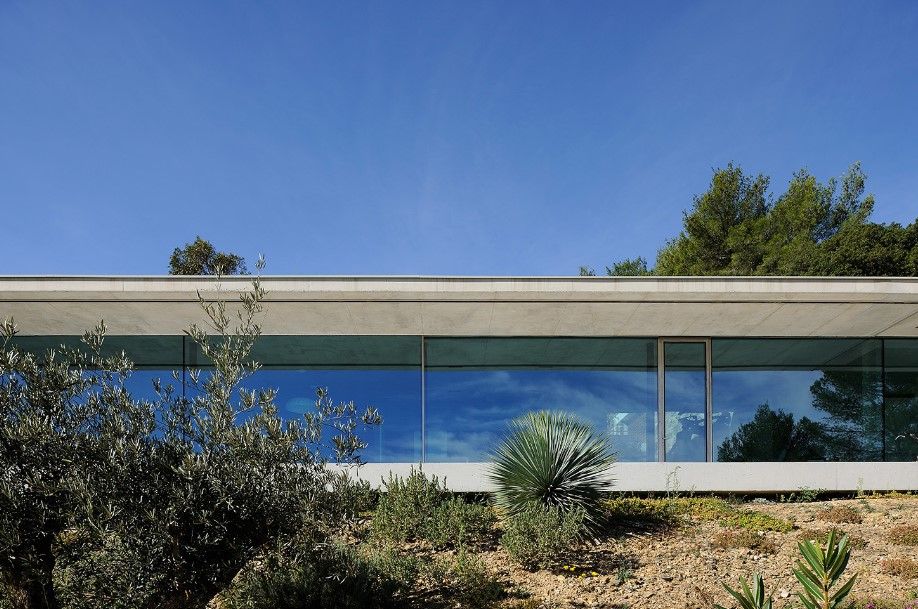 gallary of la mira ra glass facade 3