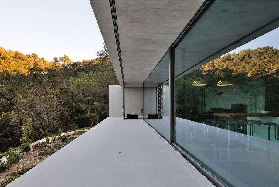gallary of la mira ra glass facade