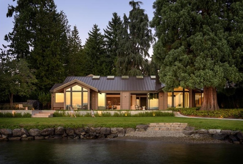 Architecture Design - 5 Stunning homes of 2020 lakeside house 1
