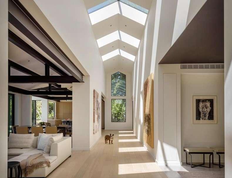 Architecture Design lakeside house Skylight