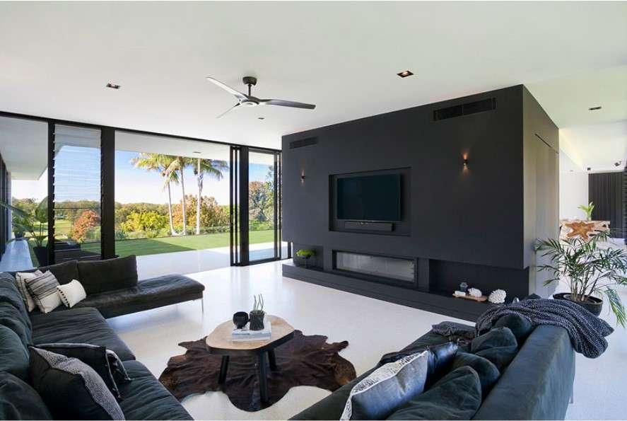 sarah waller residence living area
