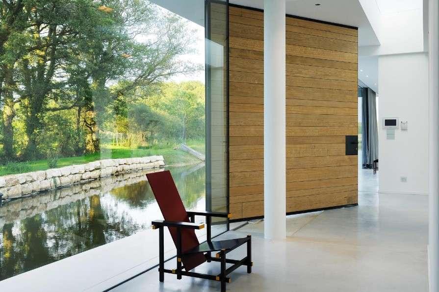 snake house interior door Modern House